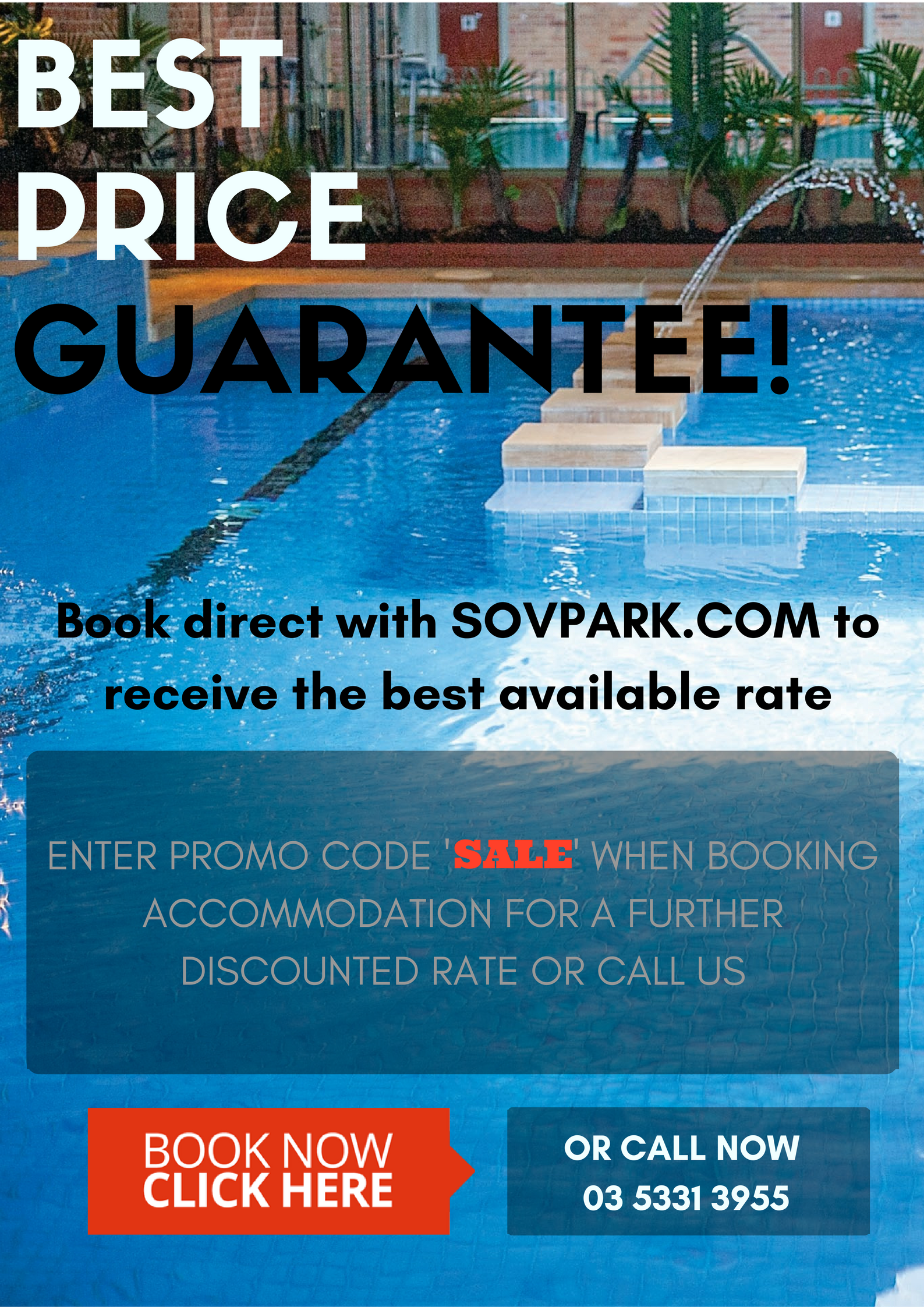 Sovereign Park Motor Inn August 16 Promotion